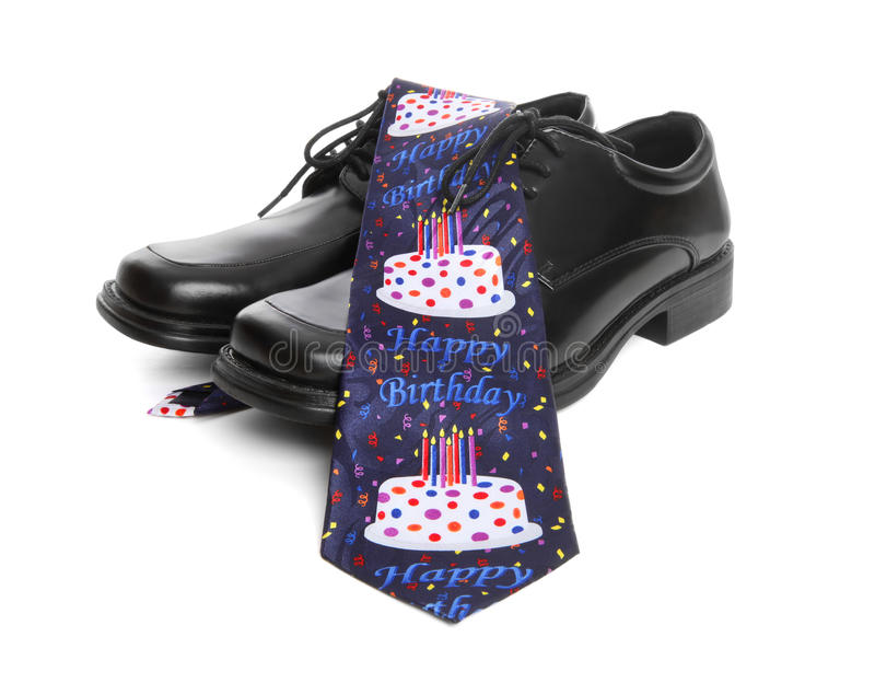 Business Man Birthday Tie stock images