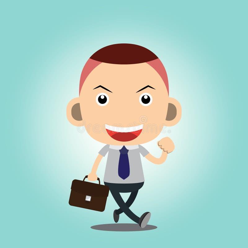 Business man. Cartoon charactor vector vector illustration