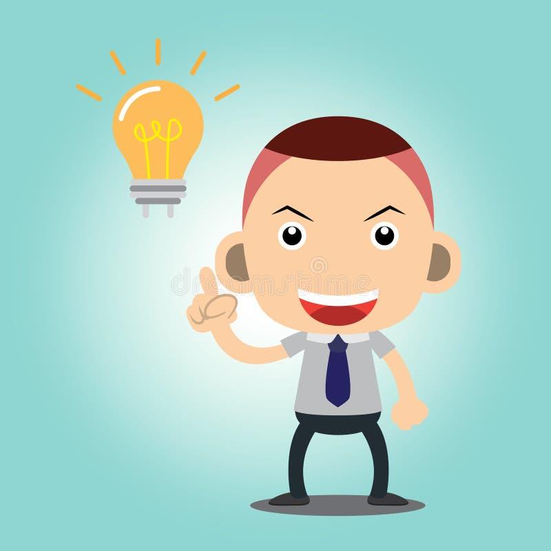 Business man. Cartoon charactor vector stock illustration