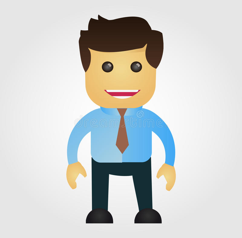 Download Business Man Cartoon Stock Photography - Image: 36715402