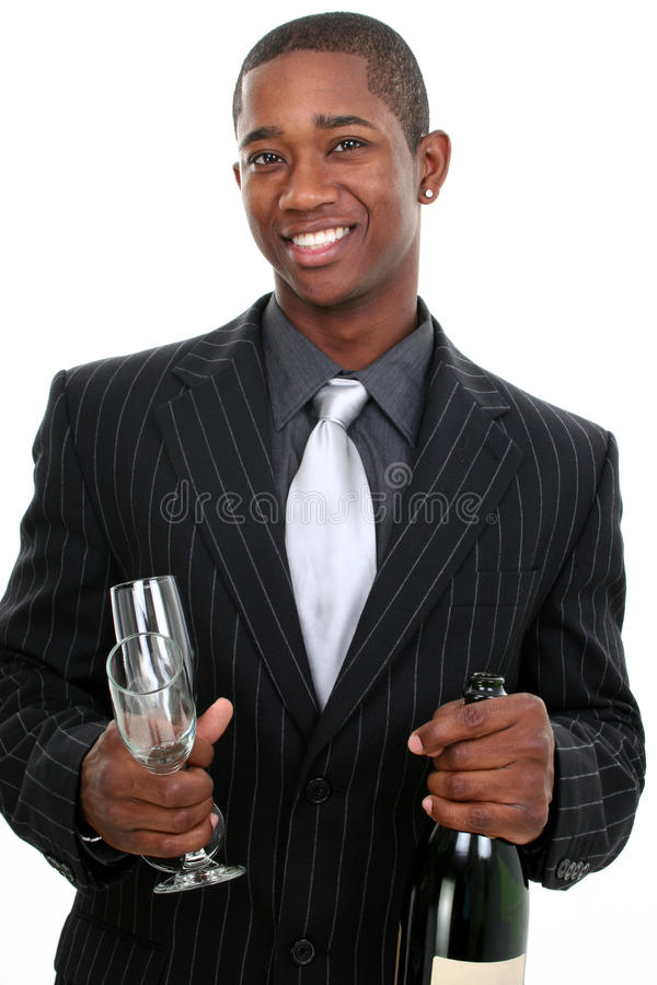 Business Man Celebration royalty free stock images