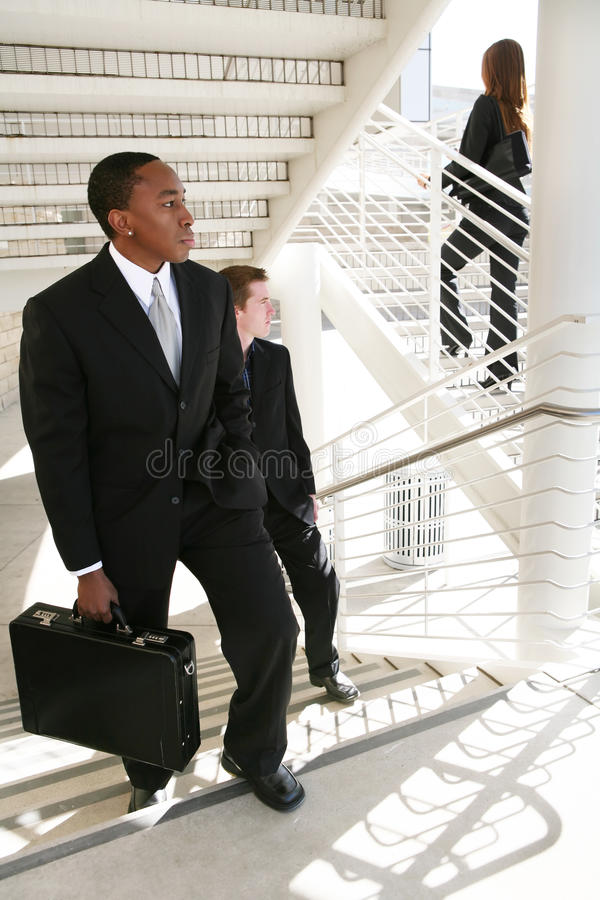 Business Man Chase stock images