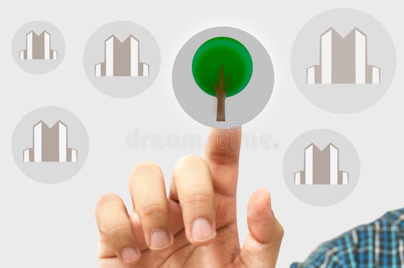 Download Business Man Choose Stock Images - Image: 24927034