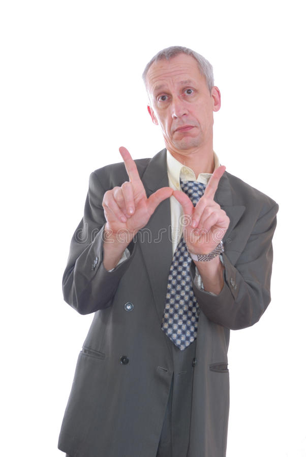 Business man expression whatever stock photo