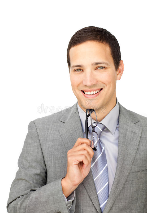 Download A Business Man With Eyeglasses Stock Image - Image: 12230167