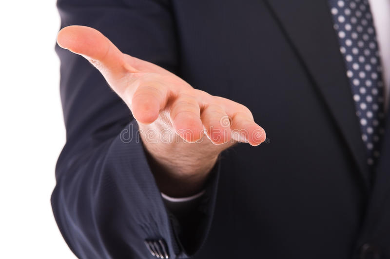 Download Businessman Gesturing With Hand. Stock Image - Image of male, demonstration: 29957249