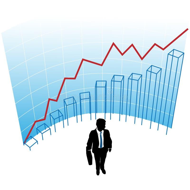 Download Business Man Graph Chart Curve Success Concept Stock Vector - Image: 15449267