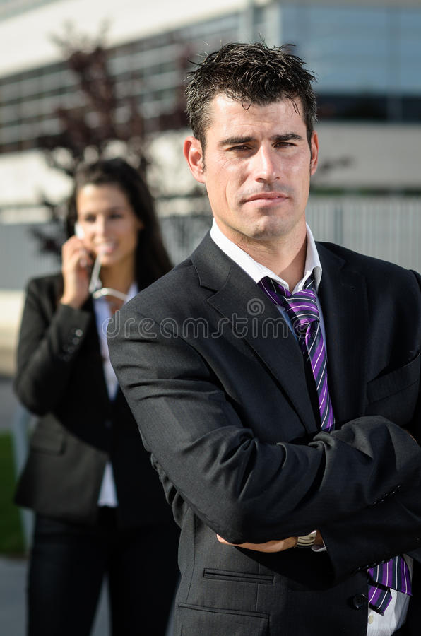 Download Business man idly stock image. Image of executive, career - 26377197