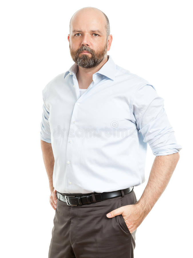 Business man. An image of a handsome business man royalty free stock image