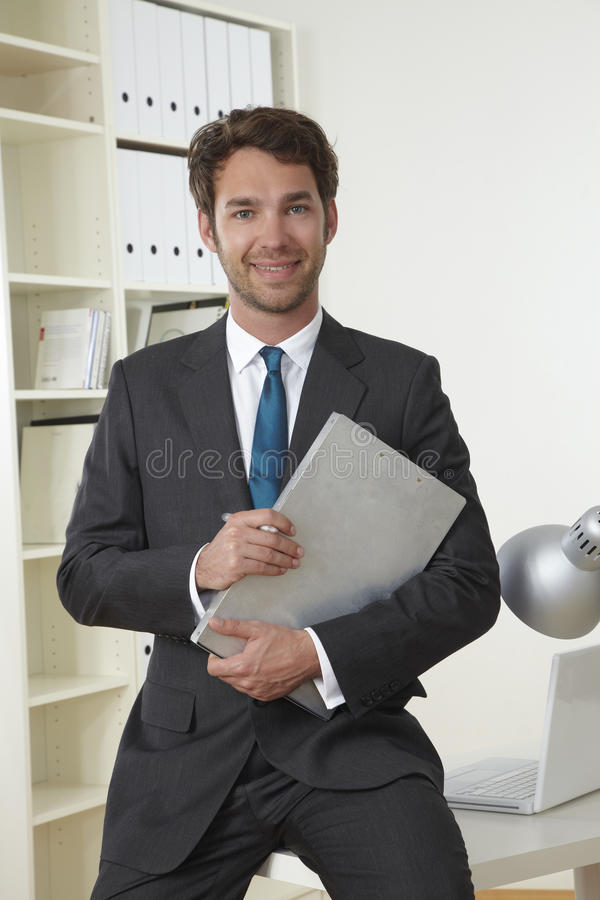 Free Business Man In Office Royalty Free Stock Images - 19301289