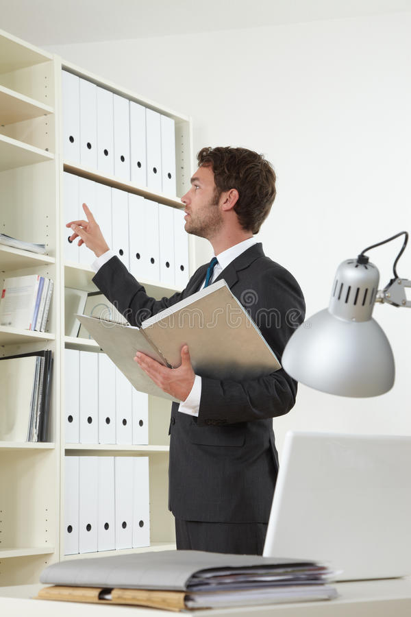Free Business Man In Office Stock Image - 19301651