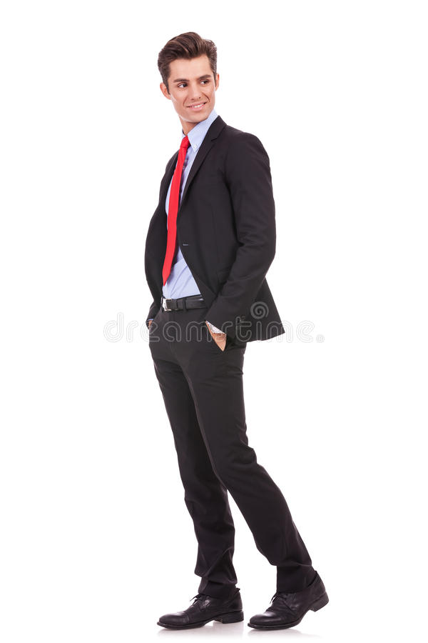Download Business Man Looking To His Back Stock Images - Image: 27075754