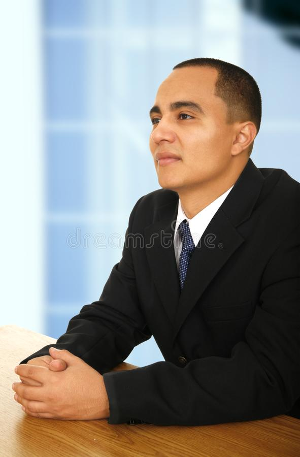 Business Man At Meeting stock images