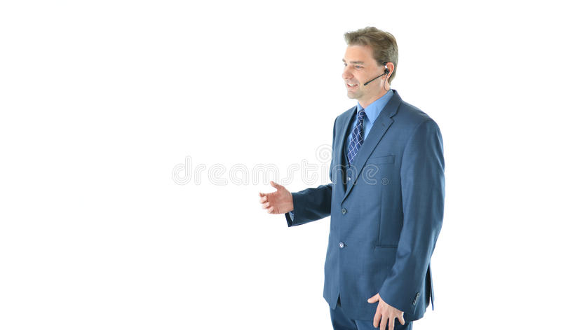 Download Business Man On The Phone Customer Service Representative Stock Photo - Image: 83719184