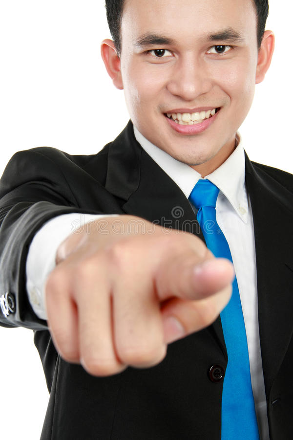 Download Business Man Pointing At You Stock Image - Image: 23797711