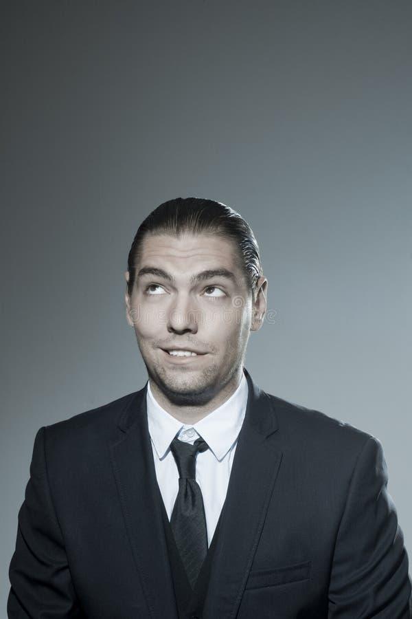 Download Business Man Portrait stock image. Image of mischievous - 39500355