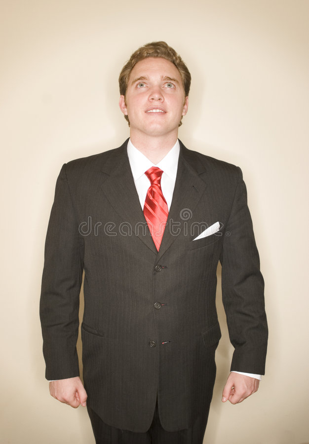 Business man power pose 8 stock photos