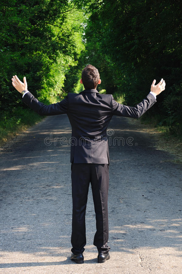Download Business Man Pray Stock Images - Image: 25801884