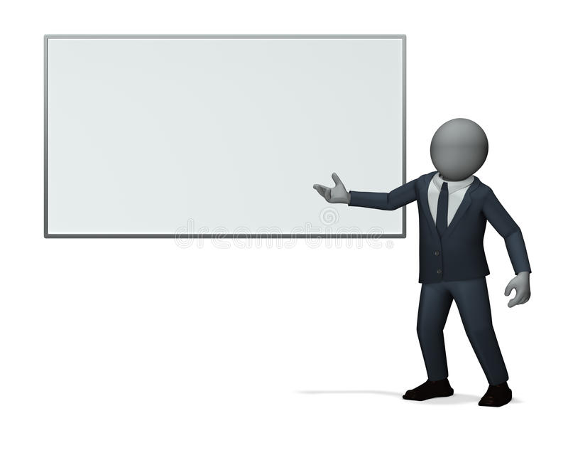 Business Man Presentation Stock Image