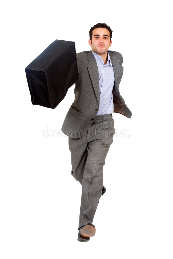 Download Business Man Running For Succe Stock Photo - Image: 2429392