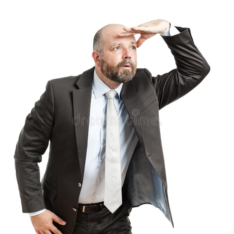 Business man seeks royalty free stock images