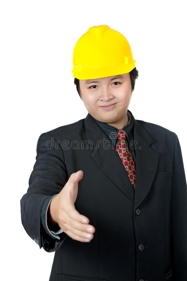 Download Business Man Shaking Hand stock photo. Image of chinese - 16715466