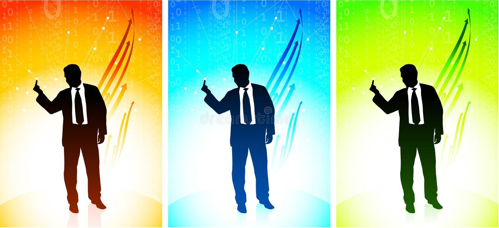 Download Business Man Showing A Middle Finger Stock Photography - Image: 12292452