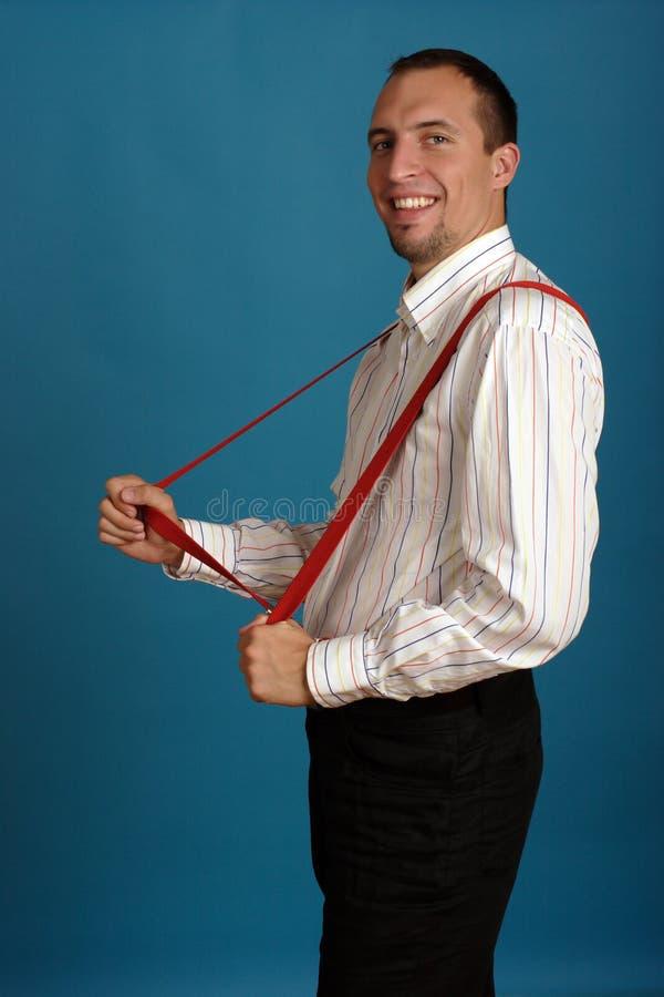 business man smiling στοκ φωτογραφίες με δικαίωμα ελεύθερης χρήσης