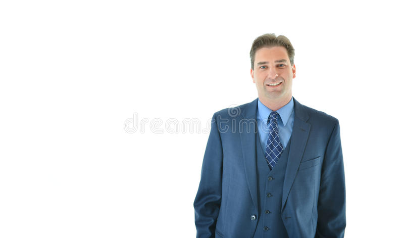 Download Business Man Standing With A Smile Stock Image - Image: 83717909