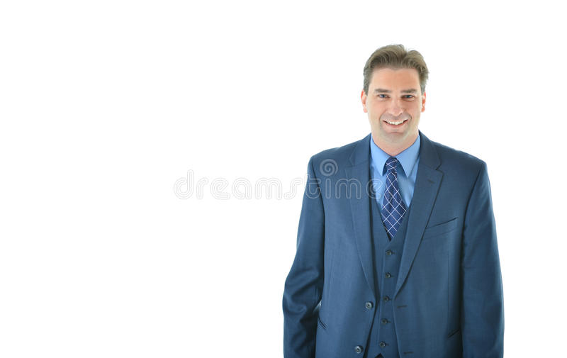 Download Business Man Standing With A Smile Stock Photo - Image: 83717694