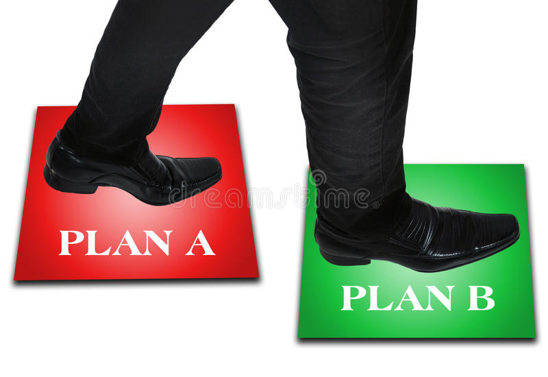 Download Business Man Step Stock Photo - Image: 34451410