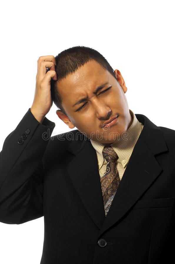 Download Business Man Stress stock photo. Image of problems, person - 12915492