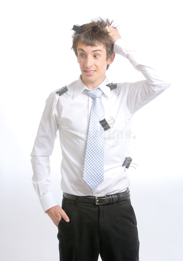 Business Man Stressed stock photos