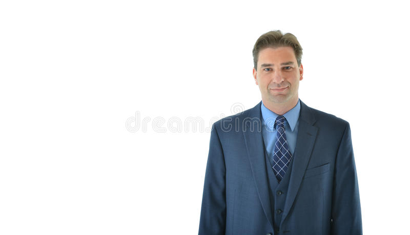 Download Business Man With A Suit Looking Straight Stock Photo - Image: 83718646
