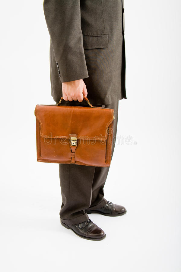 Free Business Man Suite And Bag Royalty Free Stock Photo - 9447205