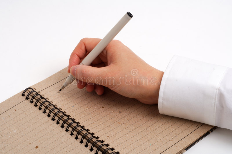 Download Business Man Taking Notes Royalty Free Stock Photography - Image: 502927