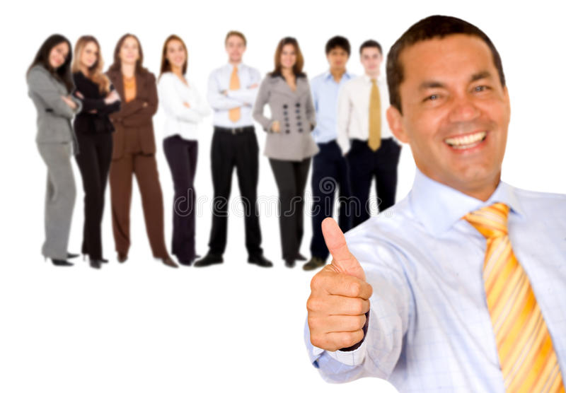 Download Business Man With Thumbs Up Stock Photo - Image: 9971370