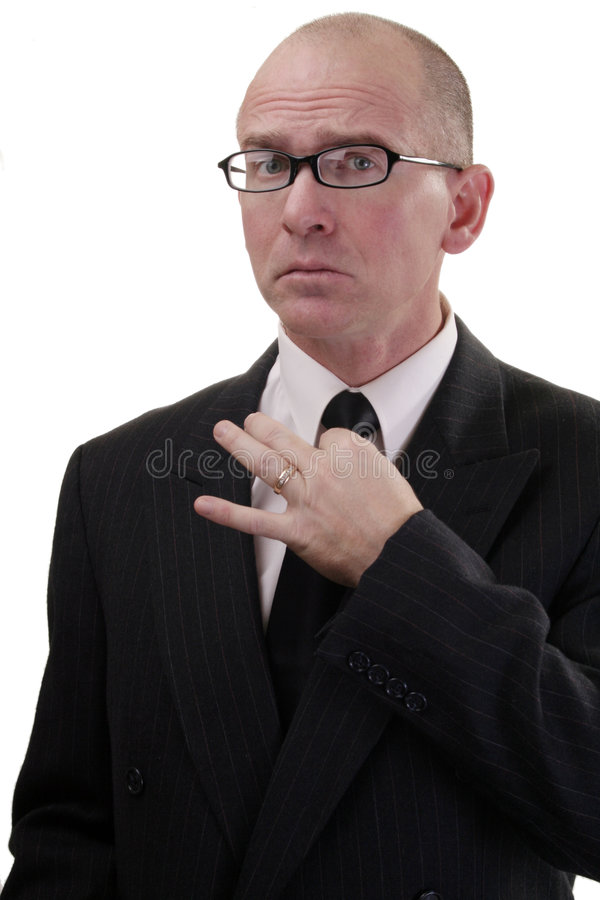 Download Business Man tie too tight stock image. Image of pinching - 3871593