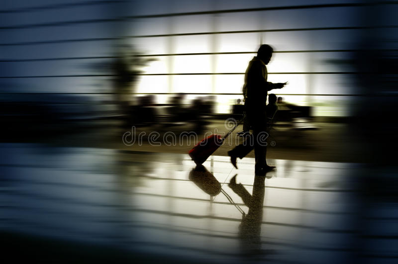 Business man traveling royalty free stock photo