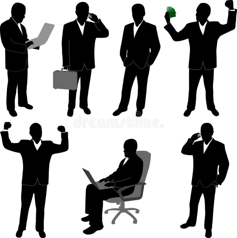 Business man - vector vector illustration