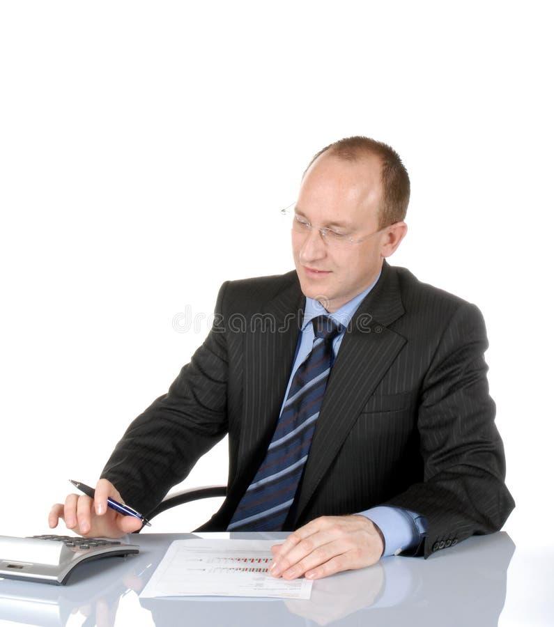 Business man VI royalty free stock photos