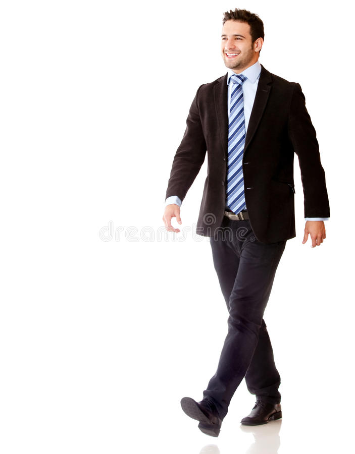 Download Business man walking stock image. Image of professional - 26094139