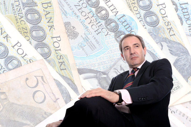 business man wealthy στοκ φωτογραφίες