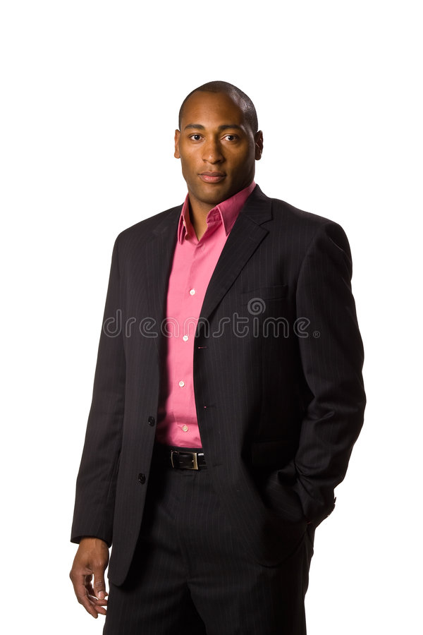 Download Business Man Wearing Suit. Stock Photography - Image: 5497172