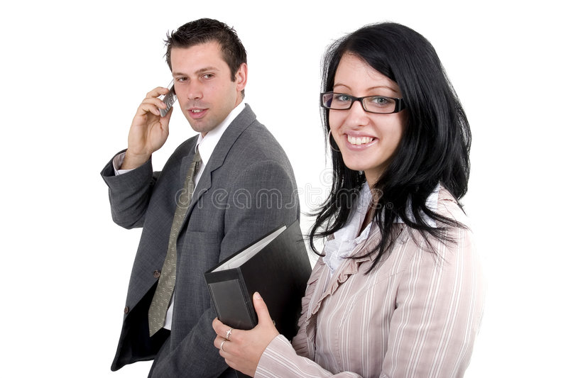 Download Business man and woman stock image. Image of business - 2579819