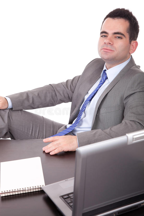 Download Business man at work stock photo. Image of caucasian - 14851634