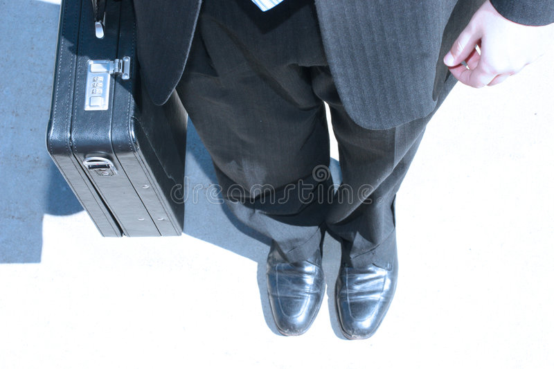 Business man work stock photography