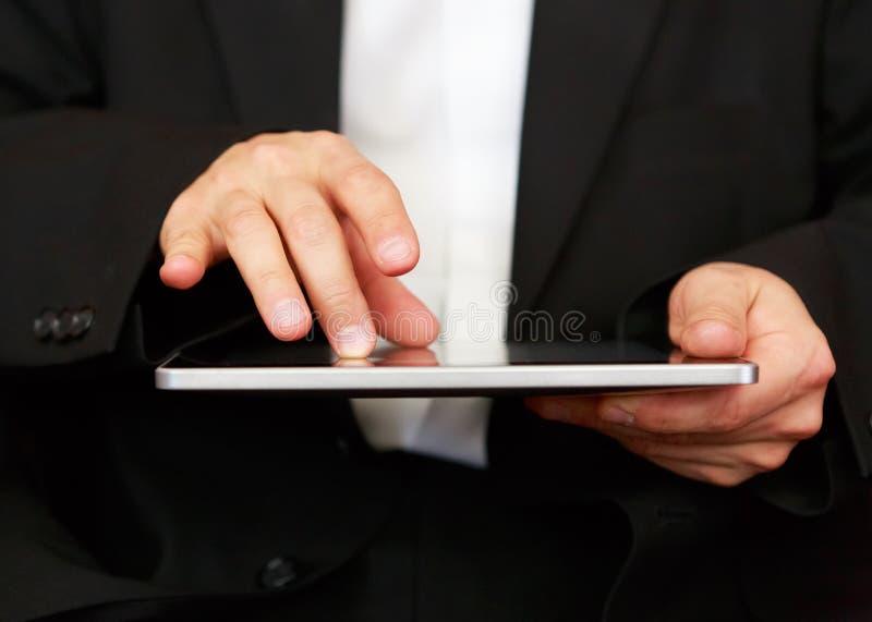 Business man at work royalty free stock photos