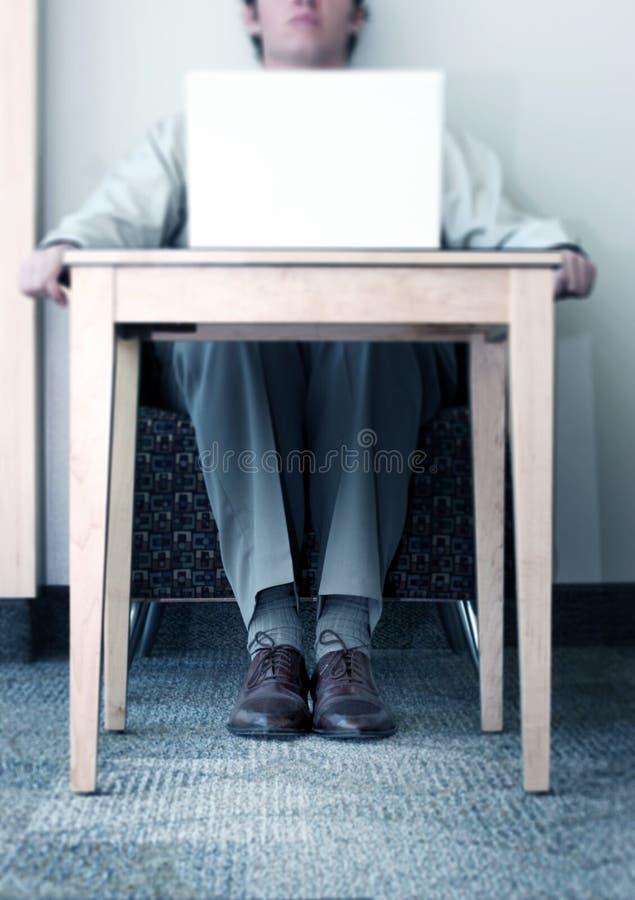 Business man working stock photo