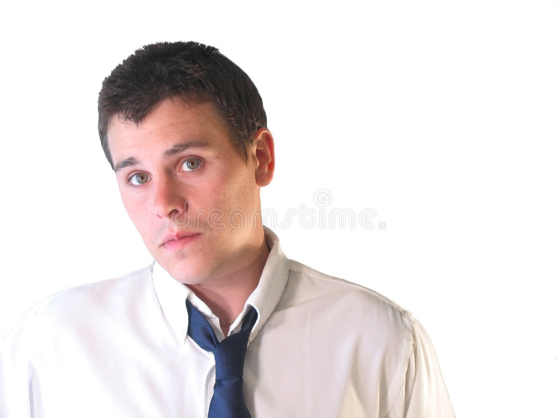 Download Business man young στοκ εικόνα. εικόνα από over, νέος, επιχείρηση - 124829